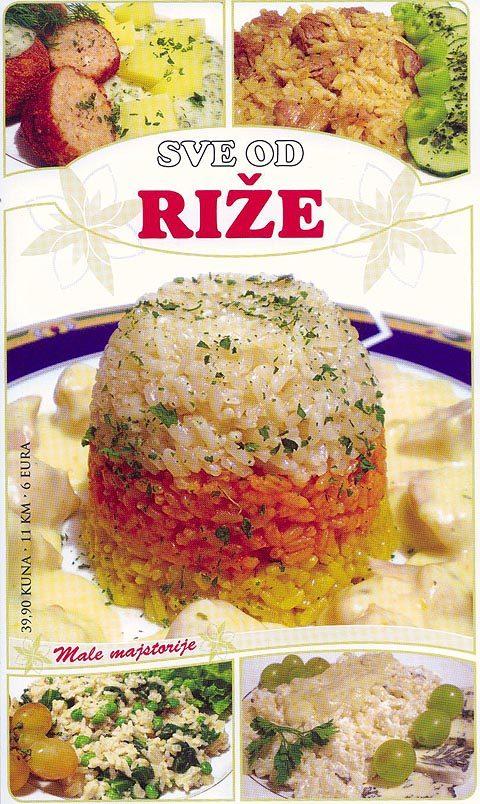 Sve od riže
