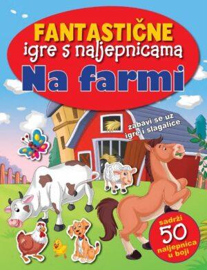 Fantastične igre s naljepnicama - Na farmi