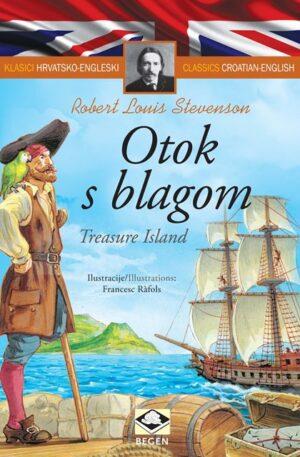 Klasici dvojezični - Otok s blagom/Treasure Island