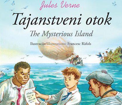 Klasici dvojezični - Tajanstveni otok/The Mysterious Island
