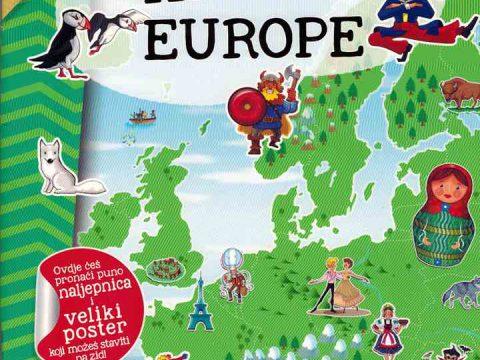 MOJ ATLAS EUROPE + poster