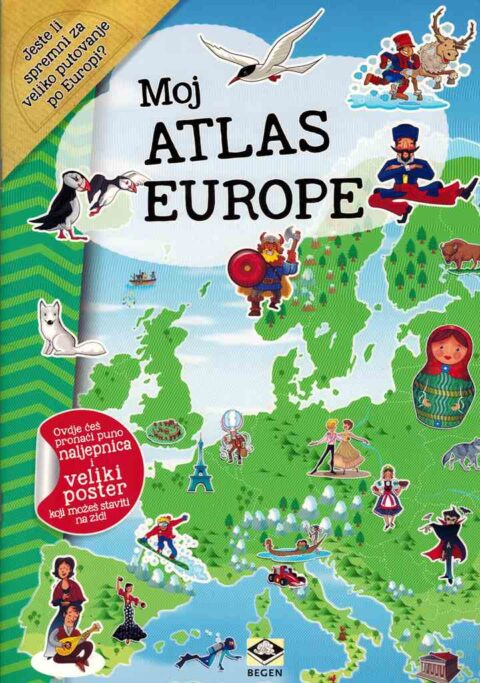 MOJ ATLAS EUROPE + poster