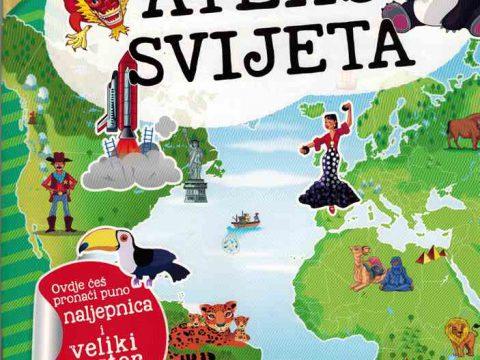 MOJ ATLAS SVIJETA + poster