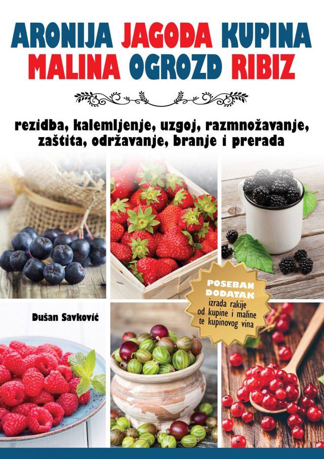 ARONIJA, JAGODA, KUPINA- bobičasto voće