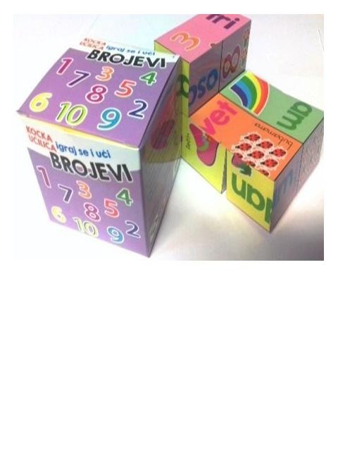 Edukativna kocka učilica – BROJEVI - edukacija za djecu