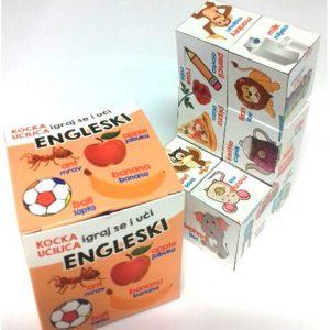 Edukativna kocka učilica – ENGLESKI - učenje stranog jezika