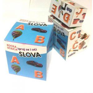 Edukativna kocka učilica – SLOVA - djeca - edukacija