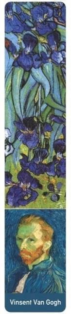 Van Gogh Irisi- bookmarkerbza knjige