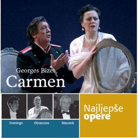 NAJLJEPŠE OPERE – Carmen