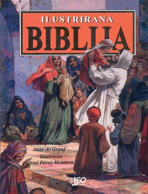 Ilustrirana biblija - religija - knjiga