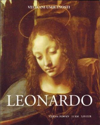 Leonardo - velikani umjetnosti - knjiga