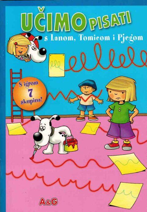 UČIMO PISATI s Lanom, Tomicom i Pjegom
