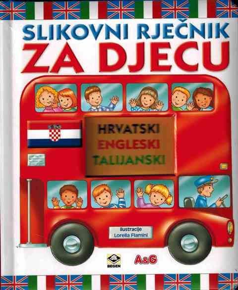 Slikovni rječnik za djecu- HRV-ENG-TAL