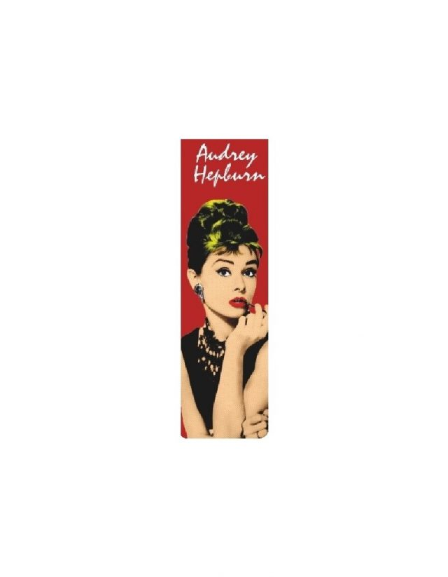 bookmarker audrey hepburn