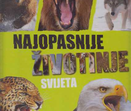 Najopasnije životinje svijeta
