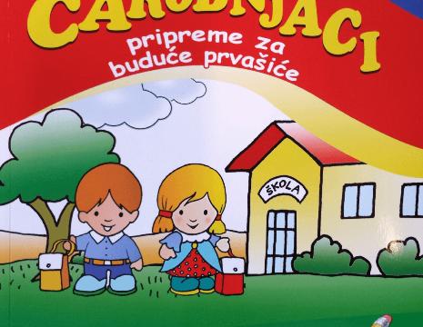 MALI ČAROBNJACI- Pripreme za buduće prvašiće