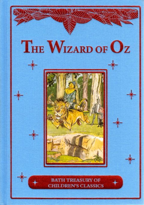 THE WIZARD OF OZ - book - knjiga
