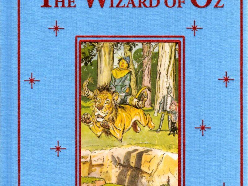 THE WIZARD OF OZ - book - knjiga