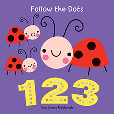 Follow the dots 1,2,3,