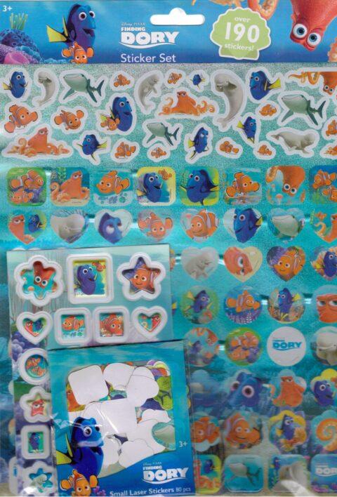 Dora sticker set